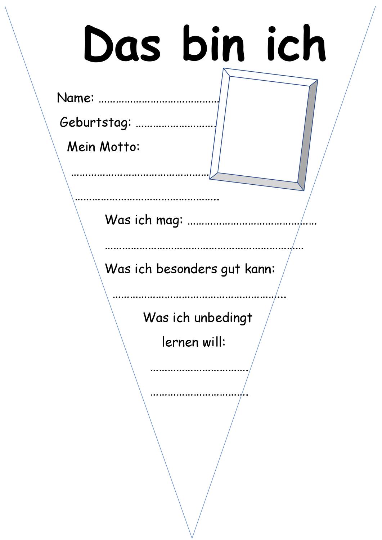 Schulersteckbrief Unterrichtsmaterial Im Fach Fachubergreifendes Unterrichtsmaterial Brief Schuler