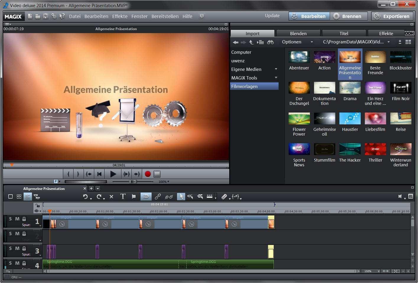 Gratis Downloads Von Magix Video Deluxe 2014 Laden Film Bearbeitung