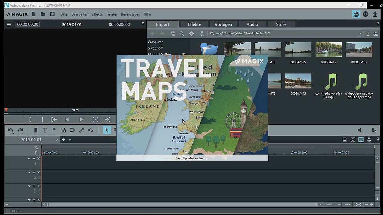 Magix Travel Maps Reiserouten Animation Im Lesertest Mit Testvideo
