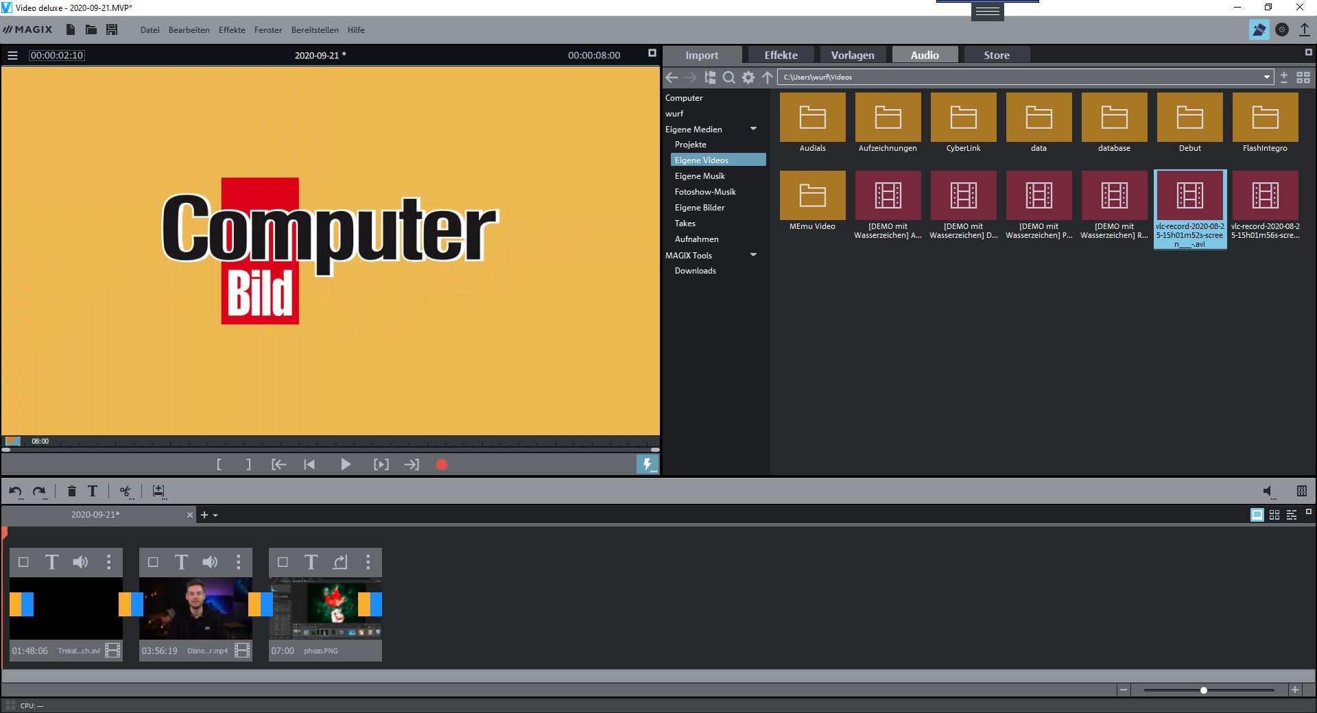 Magix Video Deluxe 2021 Download Computer Bild
