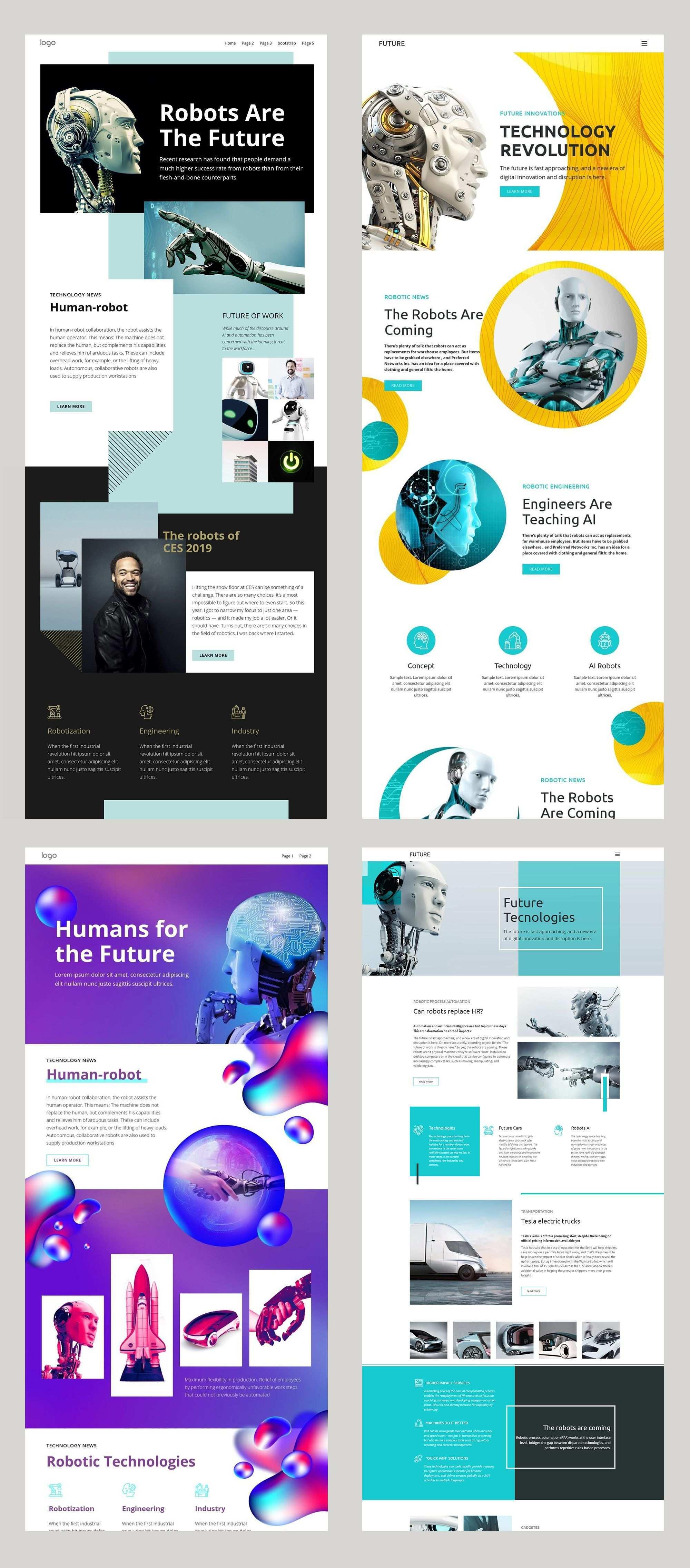 Free Templates By Nicepage Builder Web Design School Clean Web Design Newsletter Design Layout