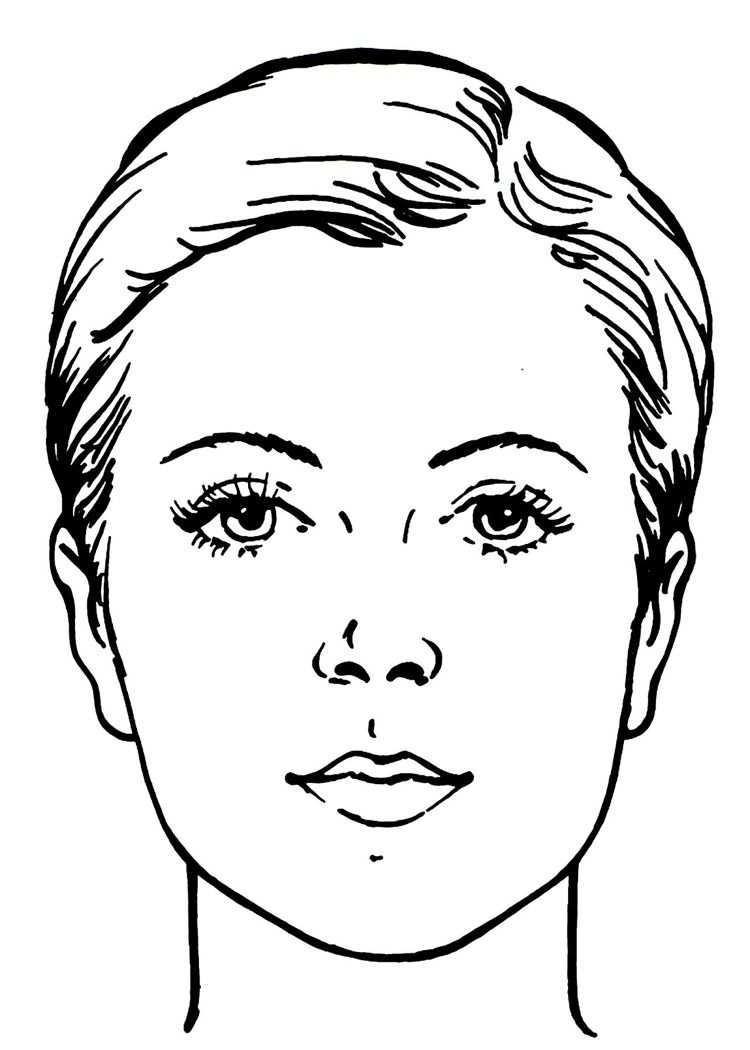 Kindergeburtstag Spiel Barbie Motto Madchen Drinnen Vorlage Makeup Face Chart Madchen Gesicht Kein Gesicht