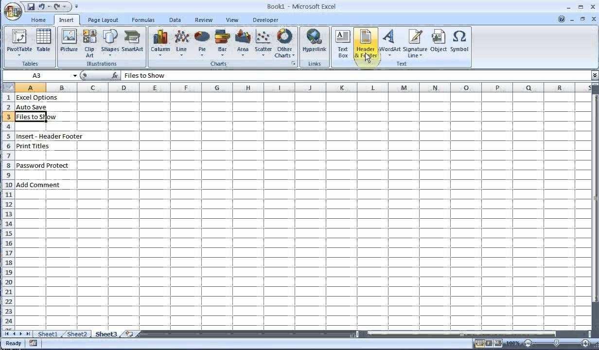 Exam Prep Microsoft Excel 2007 2010 Pt 2 Excel Spreadsheets Excel Microsoft Excel