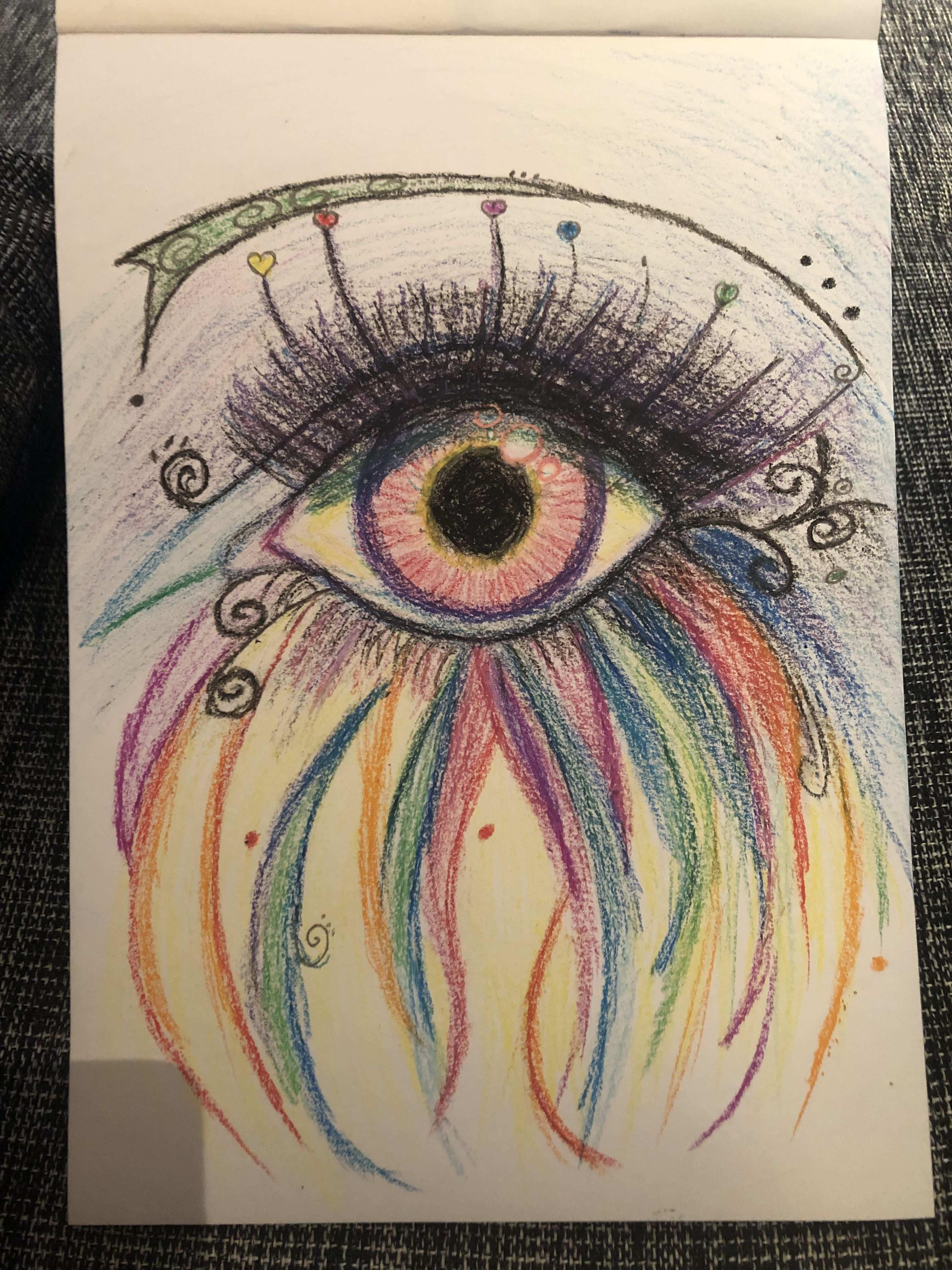 Schon Bunt Malen Und Zeichnen Wachsmalstifte Ideen Furs Zeichnen