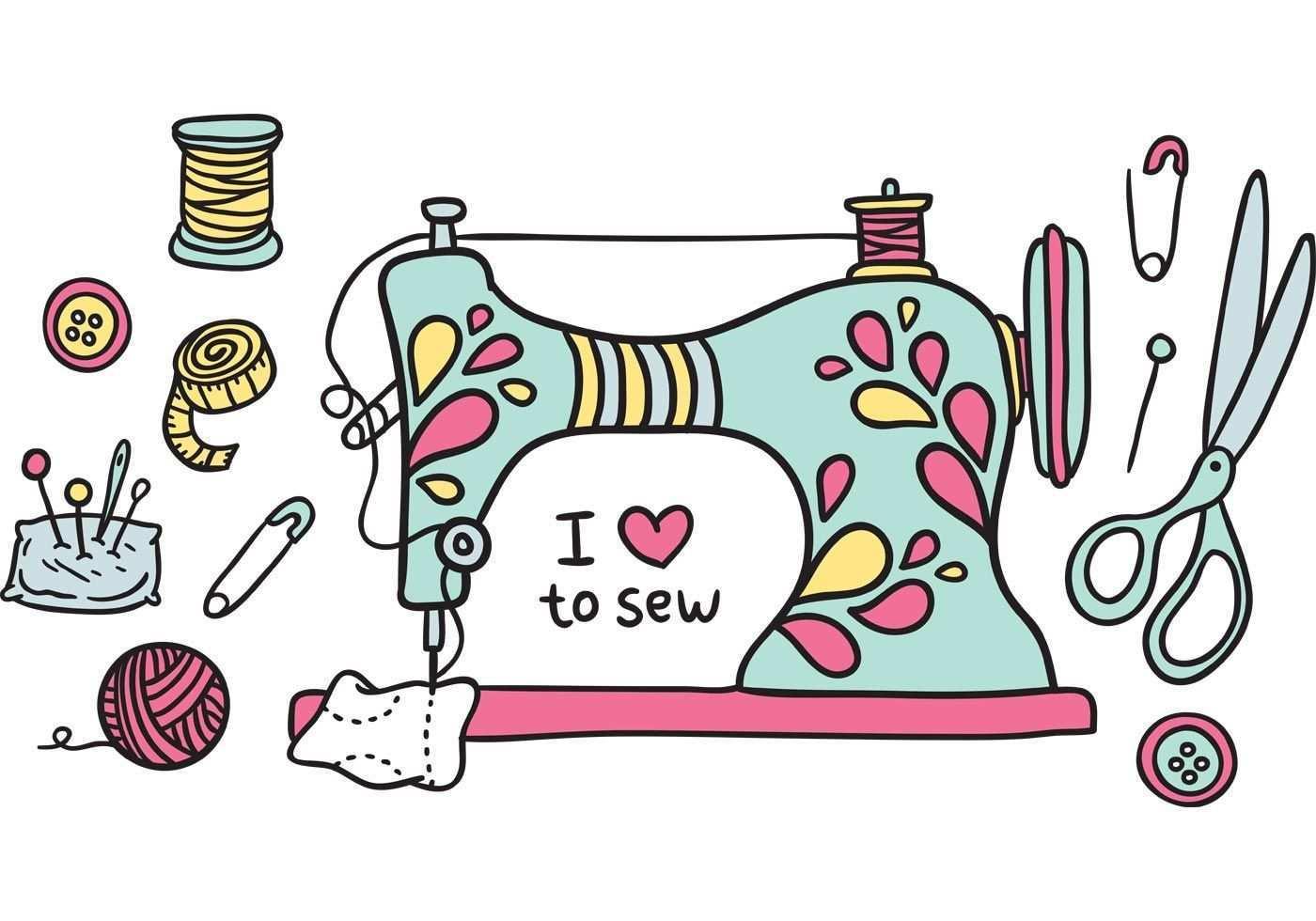 Free Vintage Sewing Machine Vector Nahen Kunst Sticken Mit Der Nahmaschine Nahanleitung