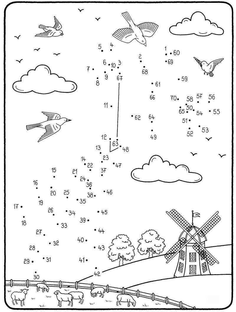 Wenn Ihr Kind Die Zahlen Von 1 Bis 70 Auf Unserer Kostenlosen Malvorlage Sinnvoll Verbin Malen Nach Zahlen Kinder Malen Nach Zahlen Malen Nach Zahlen Kostenlos