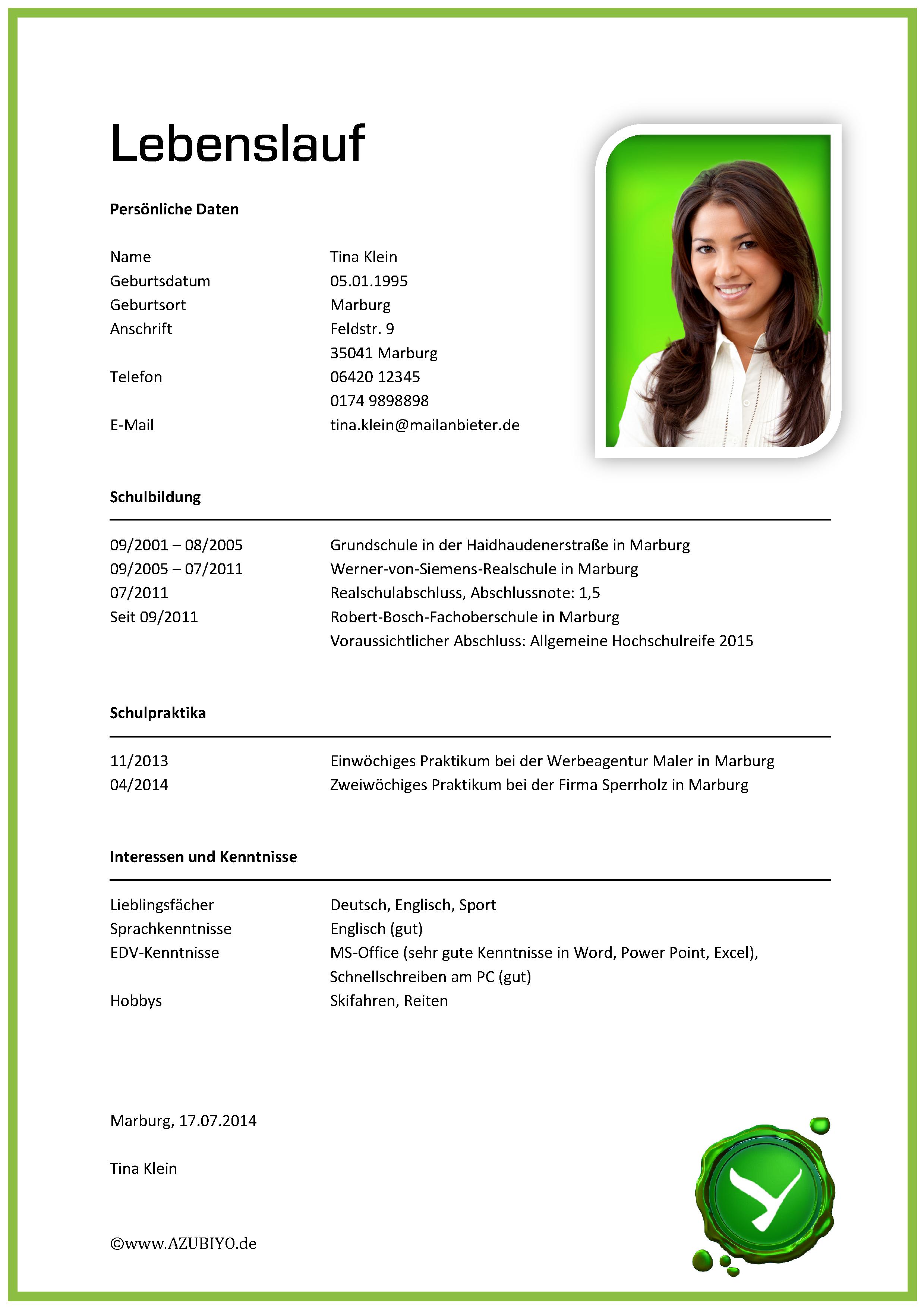 Lebenslauf Muster Beispiel Muster Lebenslauf Vorlage Png 2479 3508 Marriage Biodata Format Bio Data For Marriage Biodata Format Download