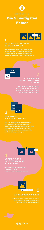Rechtssicher Mit Bildern Und Medien Arbeiten Bildrechte Lizenzen Copyright Und Co Im Griff Arbeiten In 2020 Start Up Web Design For Beginners Web Design Company