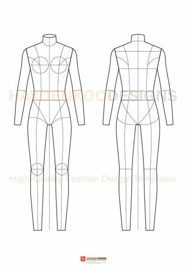 Fashion Flats Body Templates Female Special Edition In 2020 Fashion Figures Croquis Fashion Fashion Figure Templates