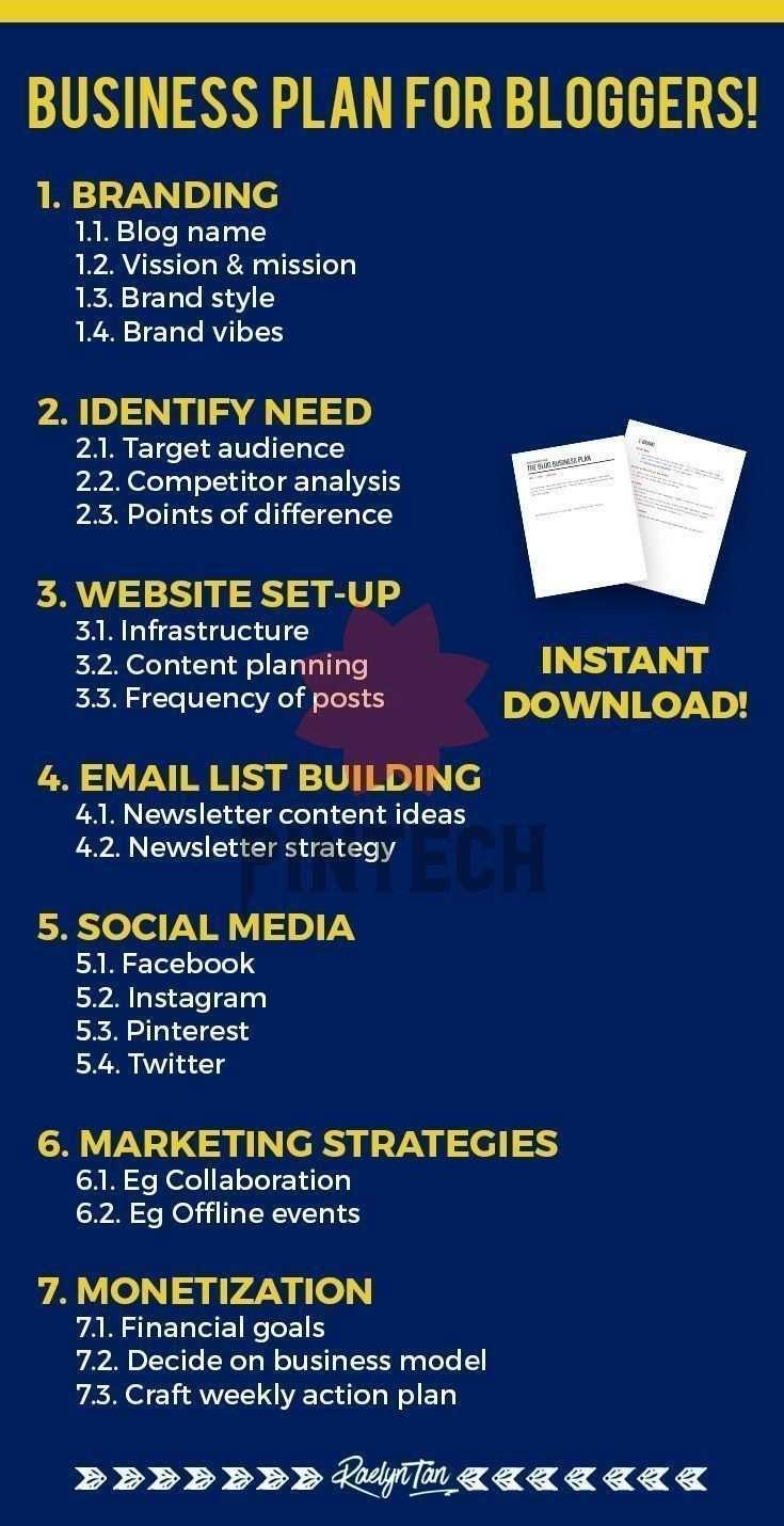 Wie Erschaffen Sie Ihre Blog Business Plan Vorlage Enthalten Blog Business Plan Vorlag In 2020 Blog Business Plan Template Blog Business Plan Business Plan Template