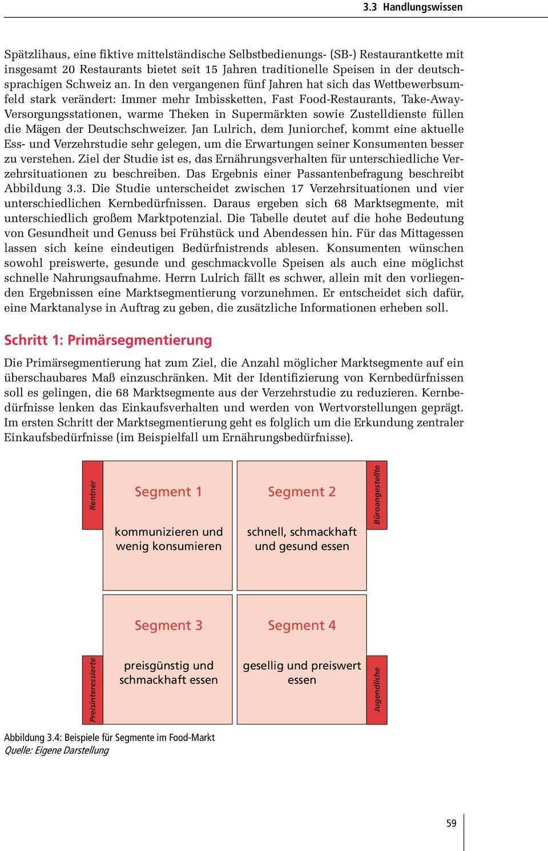 Kundenkompetenz 3 3 Handlungswissen Marktsegmentierung Planen Konsumentenforschung Im Handel Konzipieren Pdf Kostenfreier Download