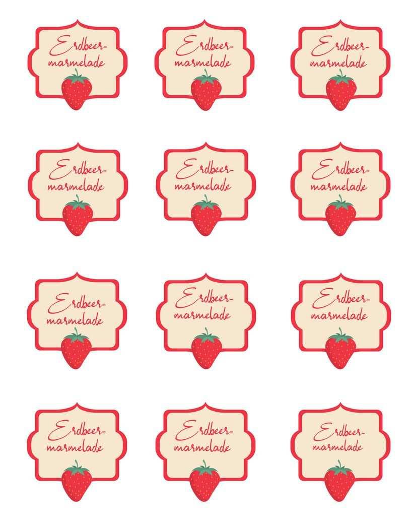 Erdbeermarmelade Selber Machen Ohne Stucke Thermomix Rezept November 2019 Erdbeeren Marmelade Erdbeermarmelade Selber Machen Marmeladen Etikett