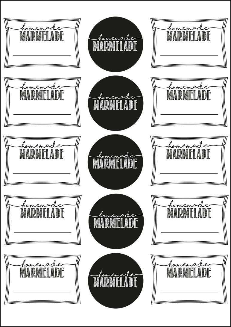 Mehrere Freebie Zum Ausdrucken Hier Marmelade Marmeladenetiketten Etiketten Drucken Etikettenvorlagen