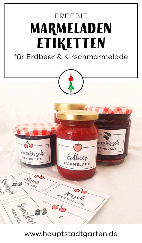Marmelade Etiketten Gartenblog Hauptstadtgarten Marmeladen Etikett Marmeladenetiketten Etiketten