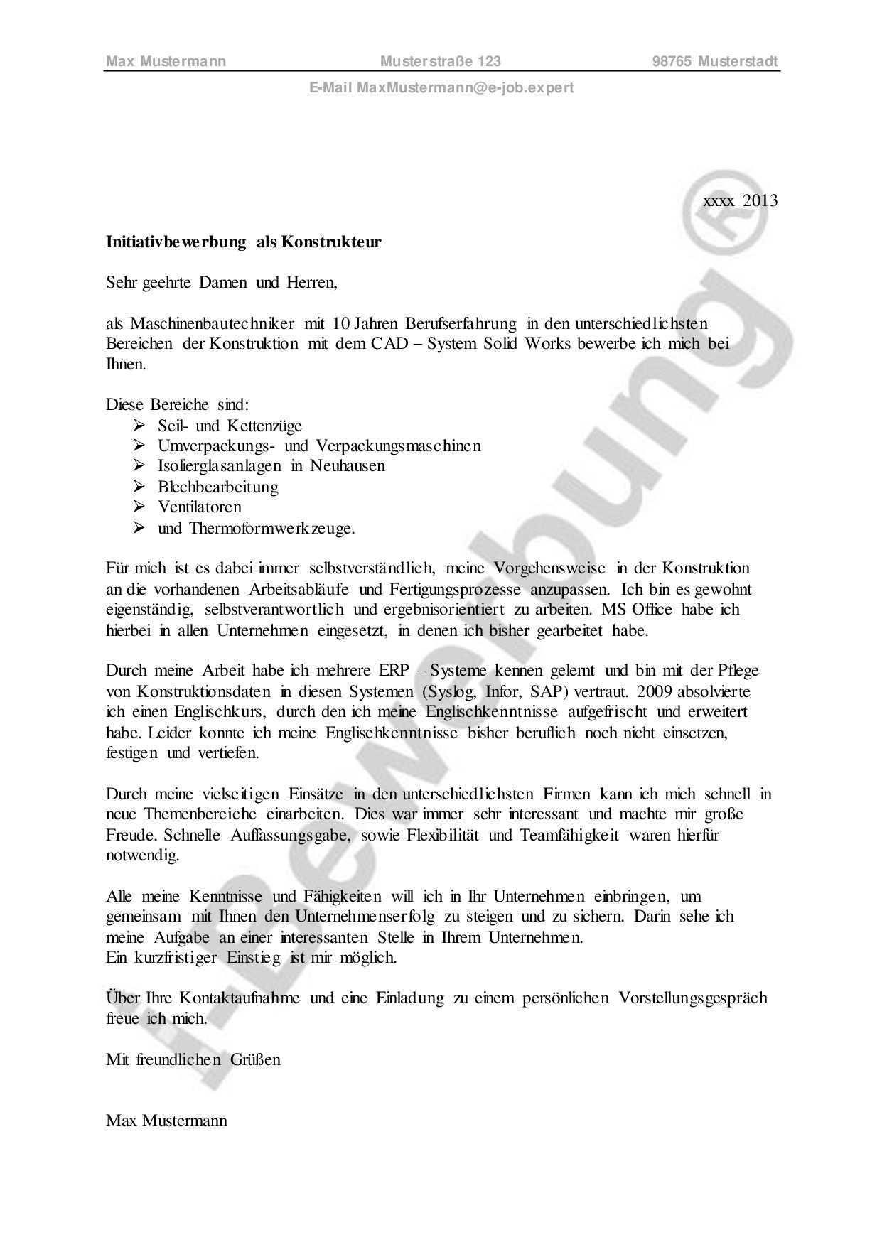 Was Ist Initiativbewerbung Entdecken Sie Den Verdeckten Stellenmarkt Bewerbung Brief Deutsch Berufserfahrung