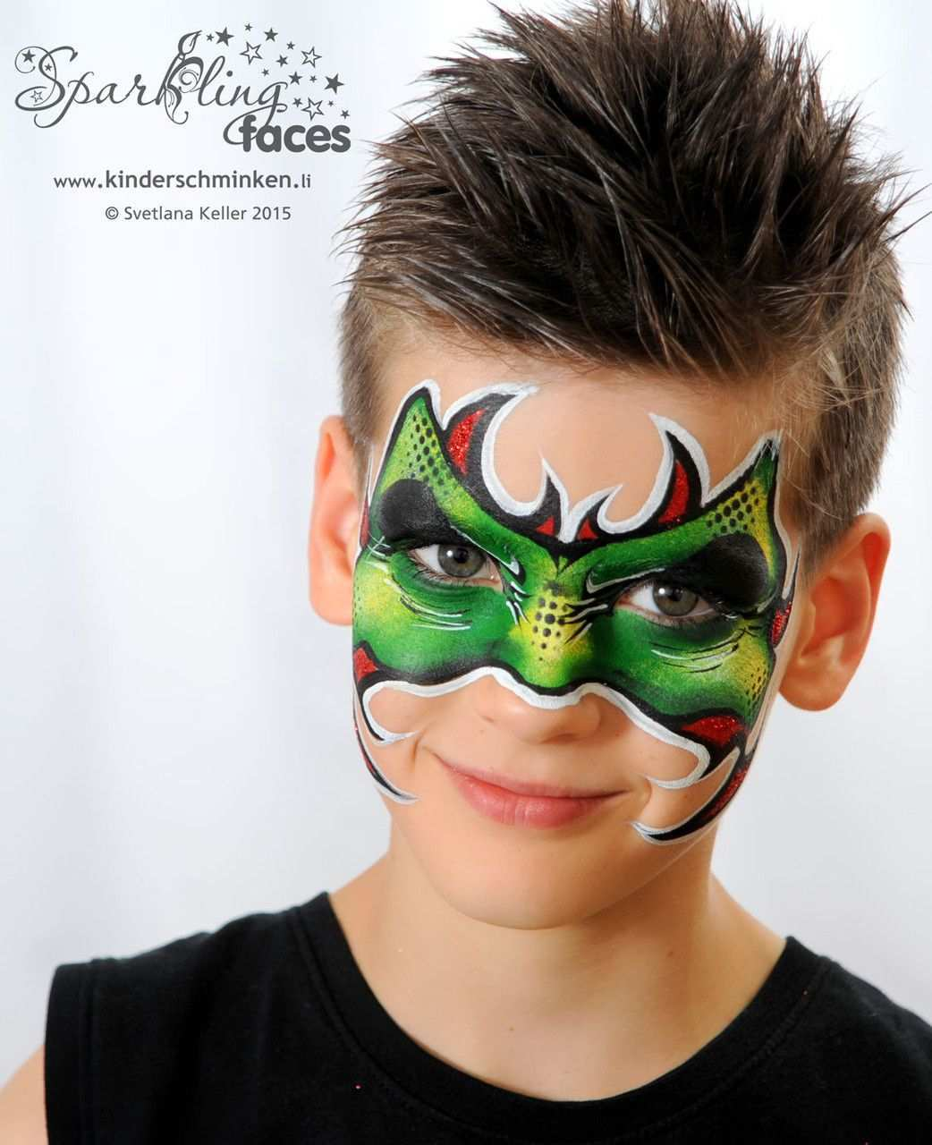 Pin Pa Boys Face Paint