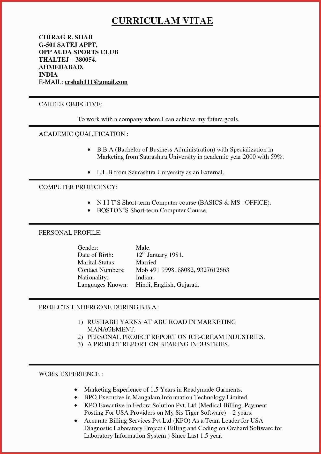Resume Format 3 Years Experience Marketing Experience Format Marketing Resume Years Http Marketing Resume Job Resume Format Downloadable Resume Template