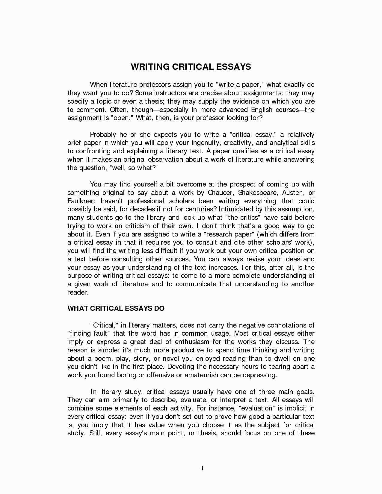 Descriptive Narrative Essay Example Unique 56 Descriptive Essay A Place Free Essays Describe A Essay Essay Examples Critical Essay