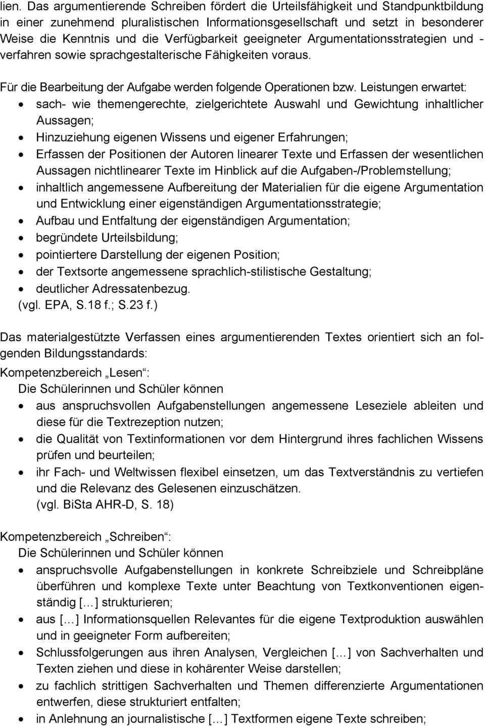 Abitur Landerubergreifende Musteraufgabe Deutsch Fachliche Einfuhrung Pdf Free Download