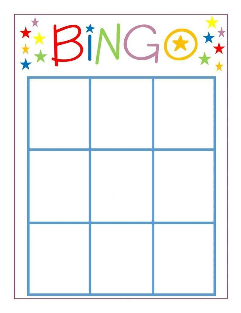 Family Game Night Bingo School Blank Bingo Cards Bingo Regarding Bingo Card Template Word 11 Te Bingo Card Template Bingo Cards Printable Bingo Sheets