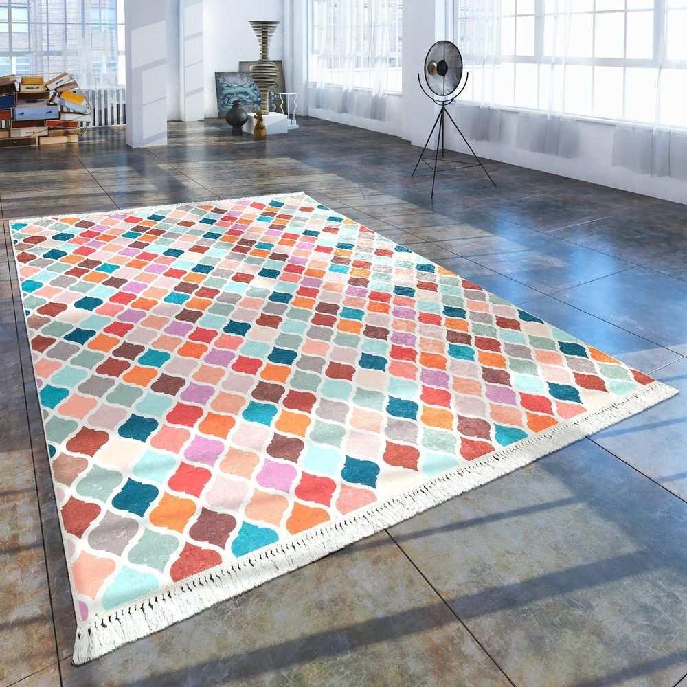 Trend Teppich Marokkanisches Muster Grau Marokkanische Muster Moderne Teppiche Teppich Bunt