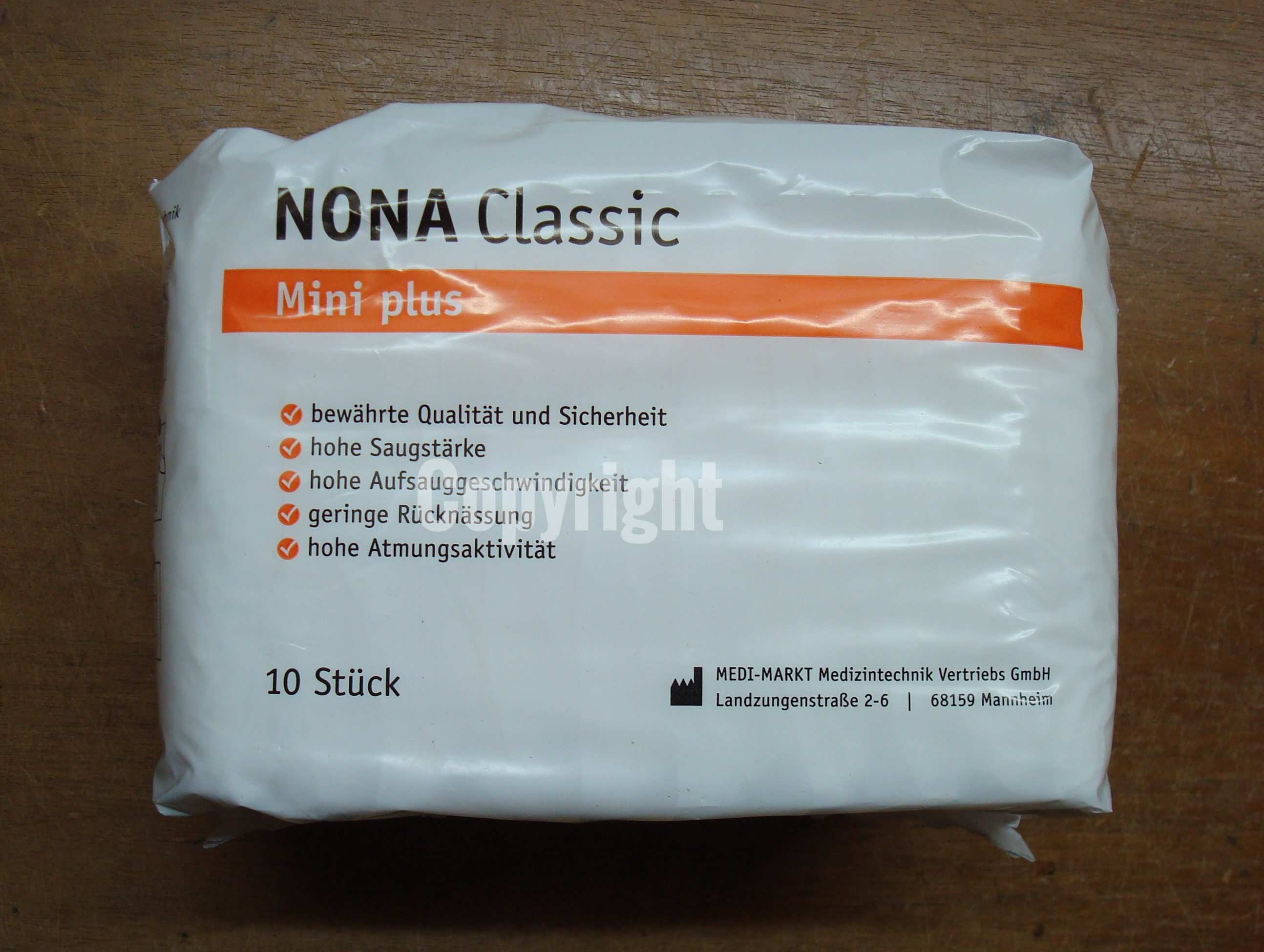 Nona Classic Mini Plus Einlage