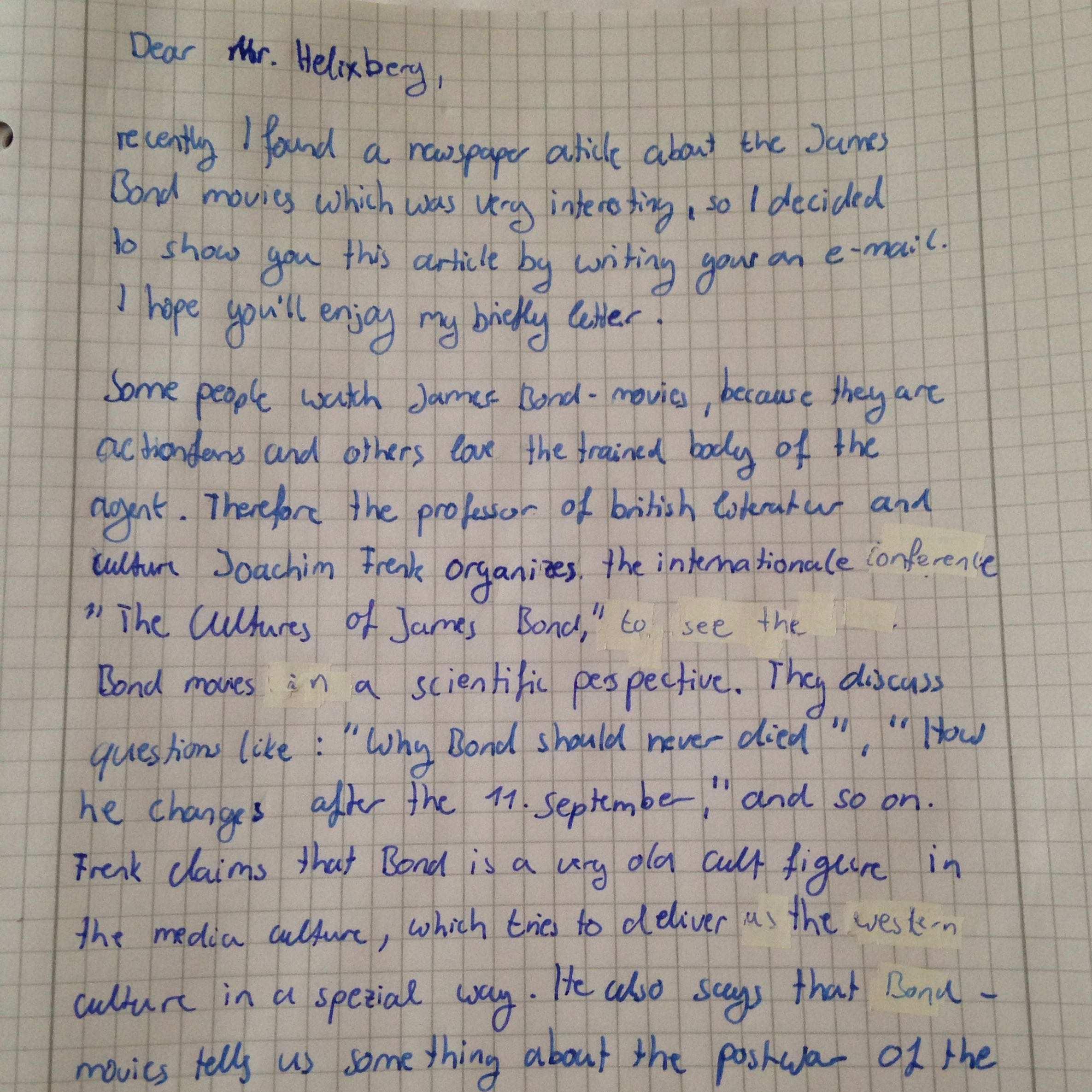 Ist Meine Mediation Gut Schule Englisch Danke