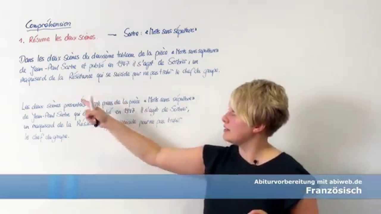 Der Einleitungssatz Franzosisch Abitur Youtube