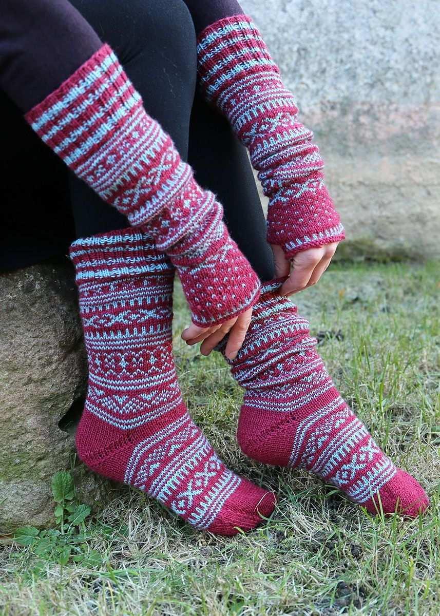 Kostenlose Anleitung Socken Stricken Ist Deine Leidenschaft Am Liebsten Mit Edlen Garnen Un Norwegermuster Norwegermuster Stricken Socken Stricken Muster