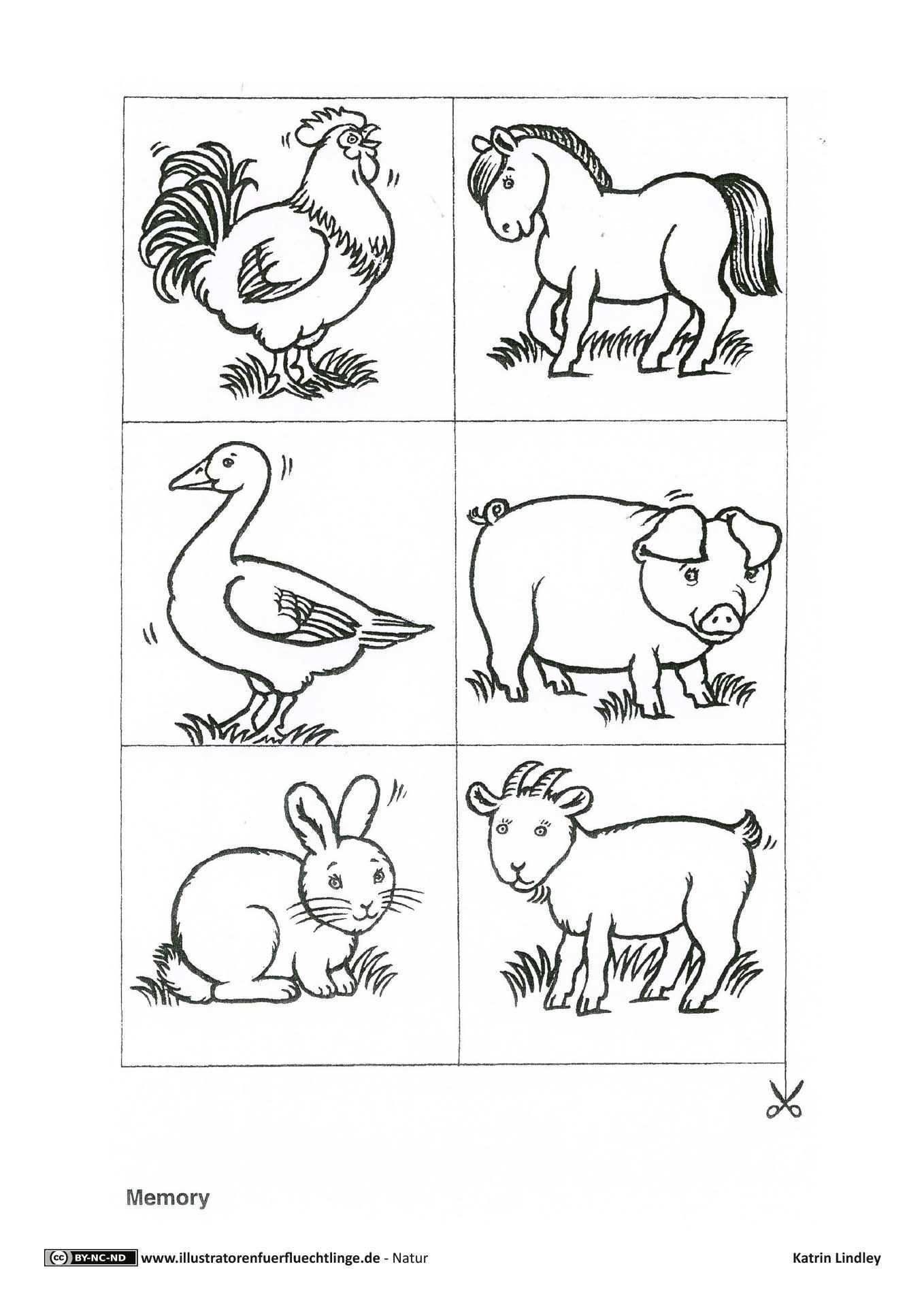 Download Als Pdf 2 Seiten Natur Bauernhof Tiere Memory Lindley Bauernhof Tiere Thema Bauernhof Bauernhof