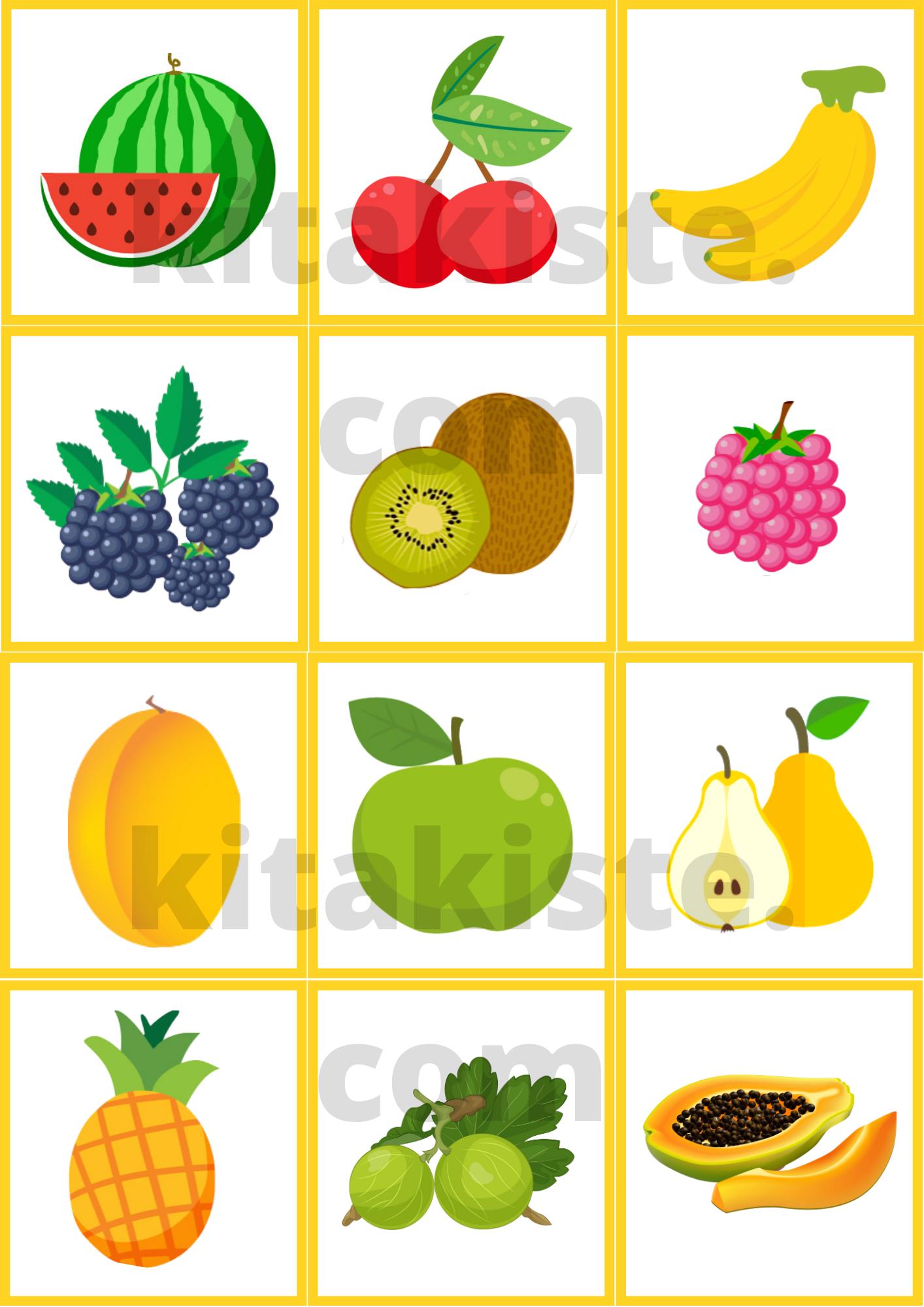 Obst Und Gemuse Memory Kinder Lied Fruchte Und Gemuse Ausdrucken