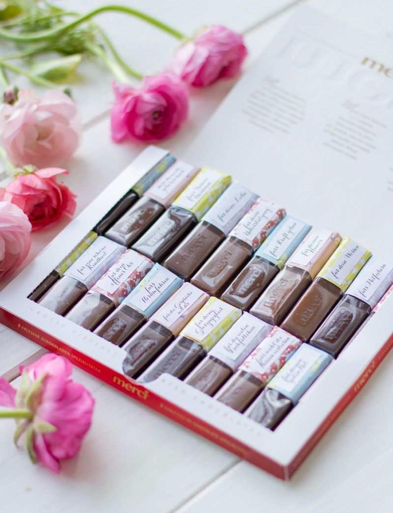 Mini Diy Merci Schokolade Als Personliches Geschenk Mit Danksagungen Trytrytry Merci Schokolade Personliche Geschenke Geschenke