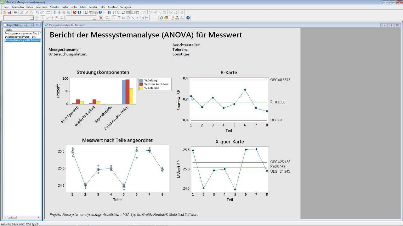 Messsystemanalyse Msa Typiii Youtube