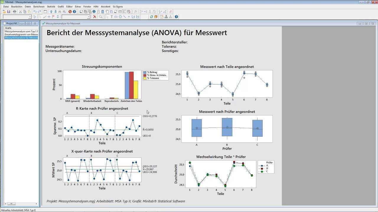 Messsystemanalyse Msa Typii Gekreuzt Youtube