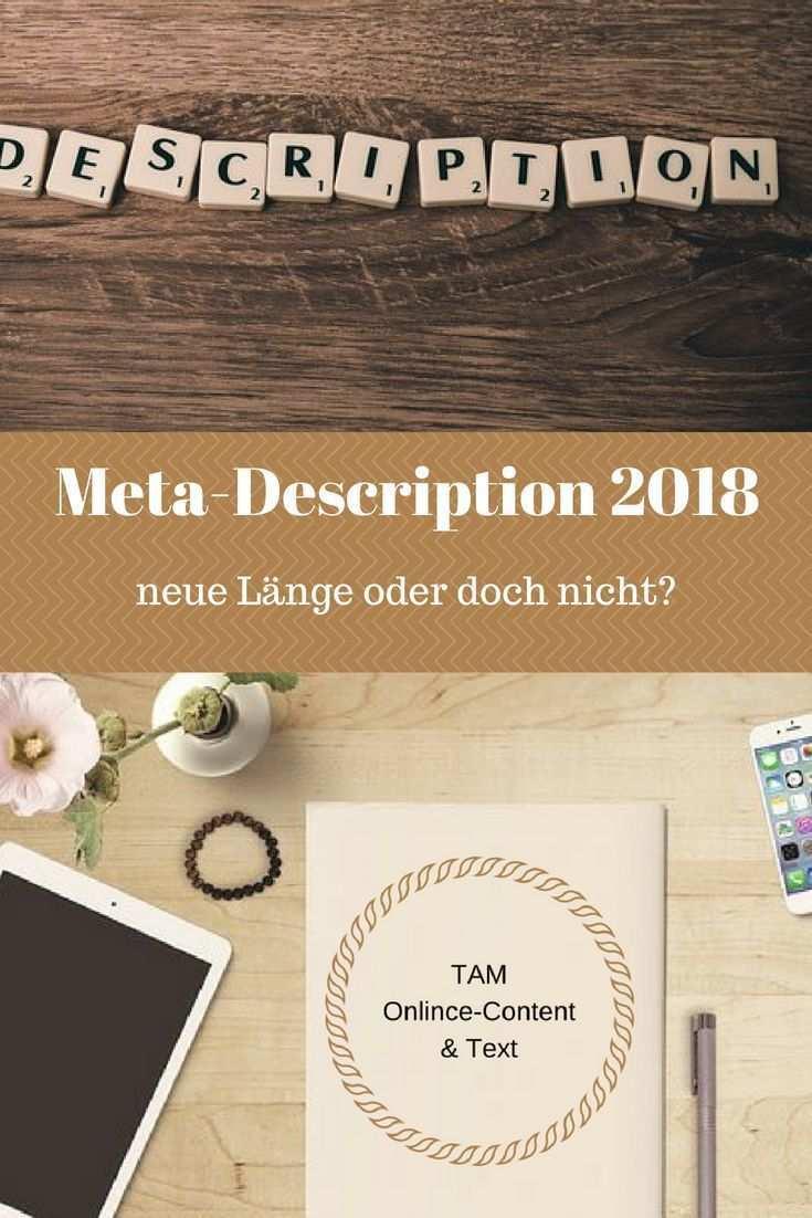 Meta Description Lange 2019 Anleitung Seo Tipps Lowen Text Seo Tipps Blog Geld Verdienen Erfolgreich Bloggen