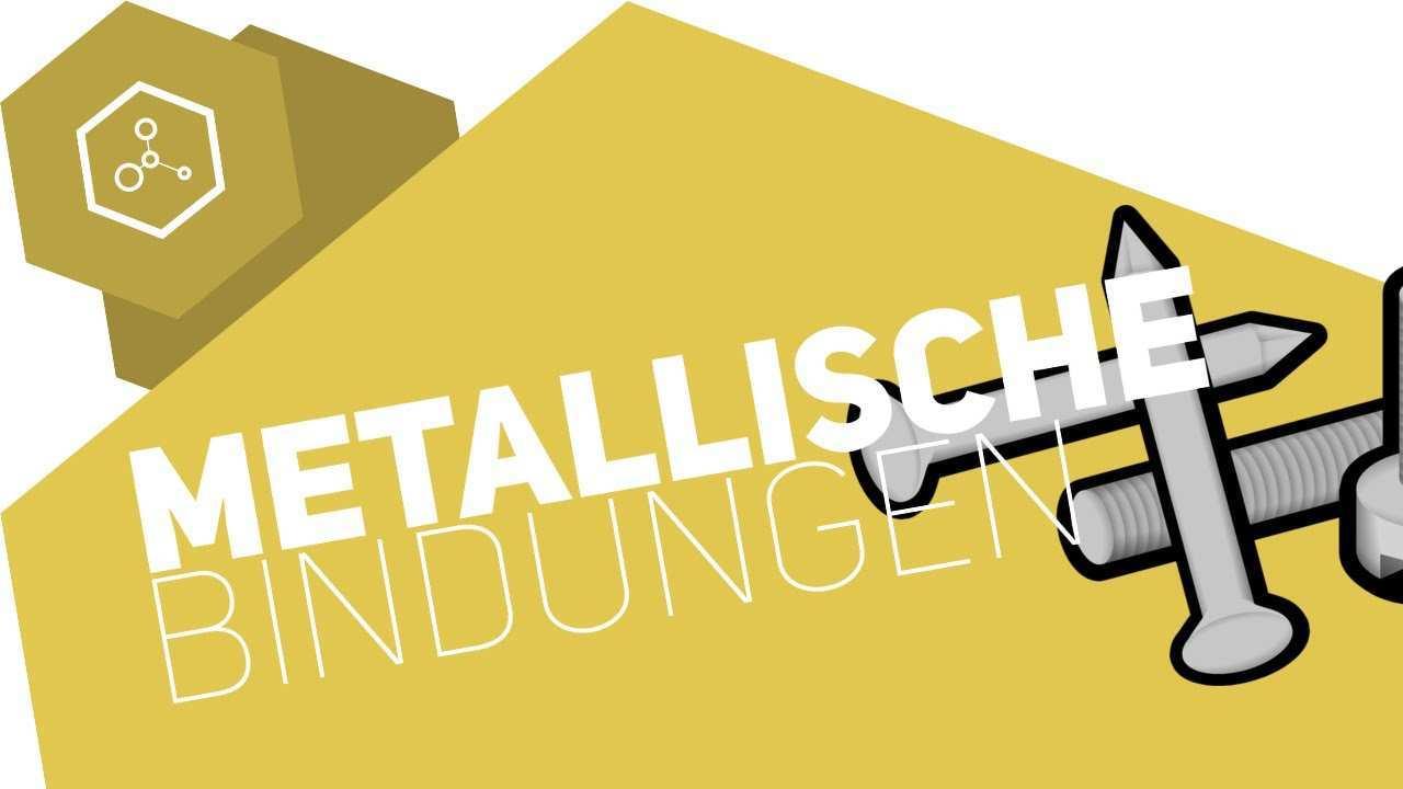 Metallische Bindungen Einfach Erklart Gehe Auf Simpleclub De Go Werde Einserschuler Youtube