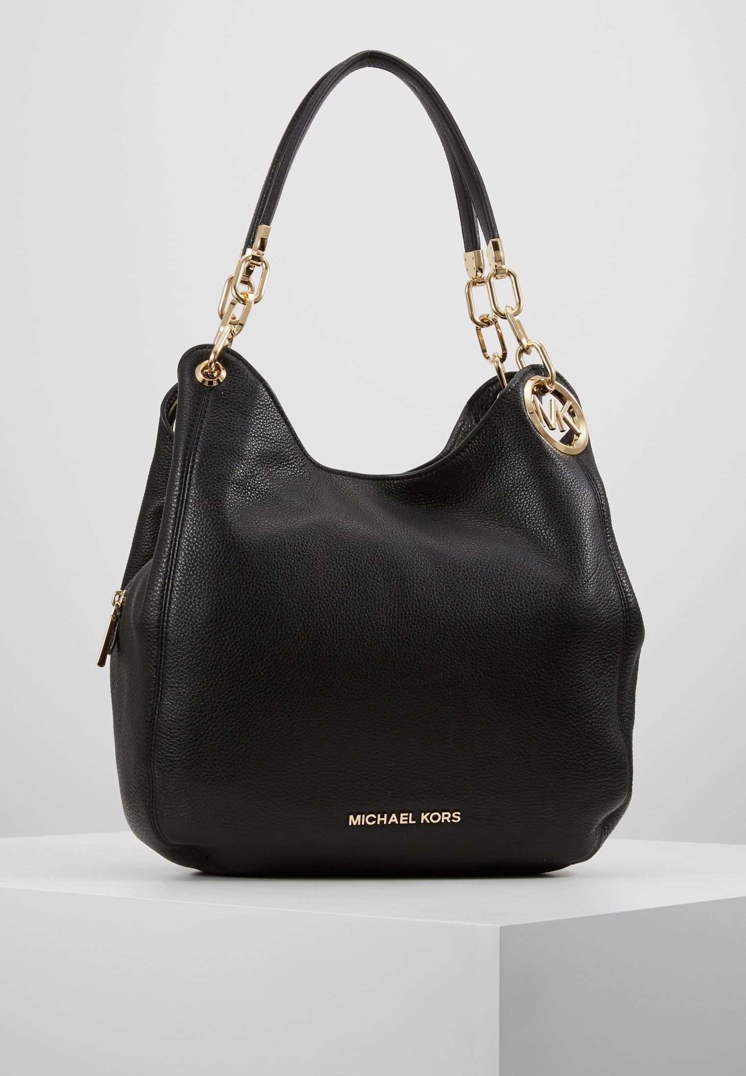 Michael Michael Kors Lillie Chain Tote Small Handtasche Black Zalando De Handtaschen Taschen Michael Kors