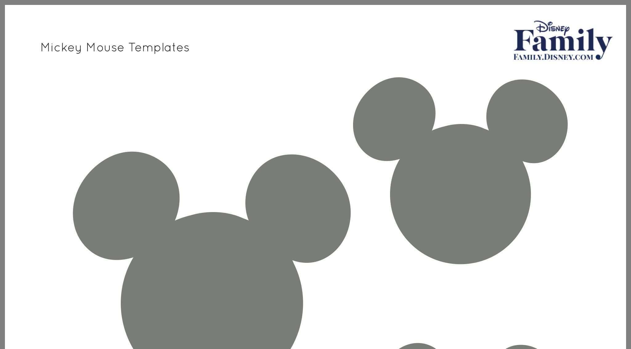 Pin By Sharon Peters On Crafts Mickey Mouse Template Disney Mickey Mouse Disney Mickey