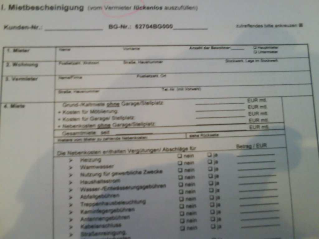 Mietbescheinigung Vom Job Center Erwerbslosenforum Deutschland