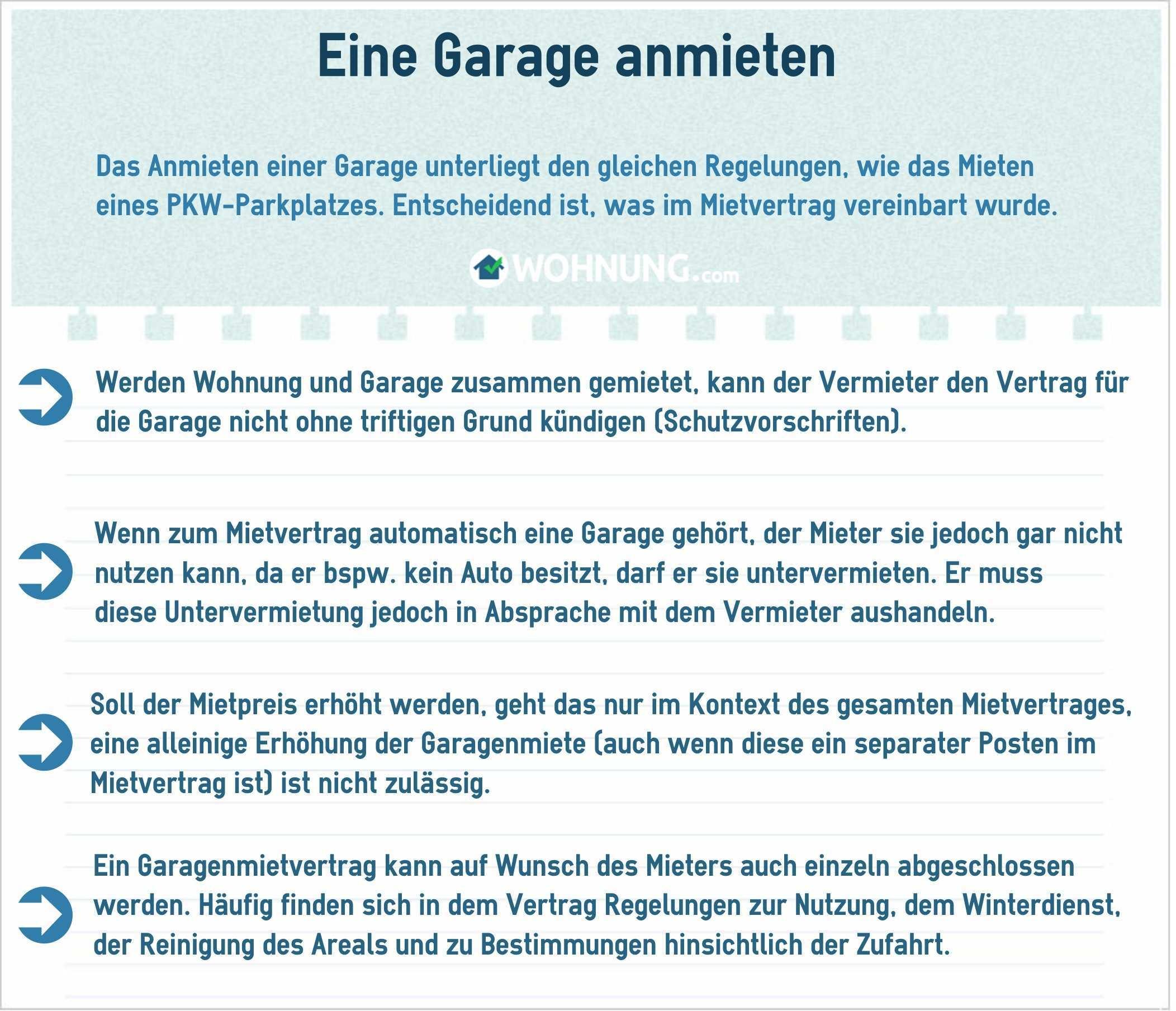 Garagen Parkplatze Rechtliche Grundlage Fur Mieter Und Vermieter Wohnung Com Ratgeber