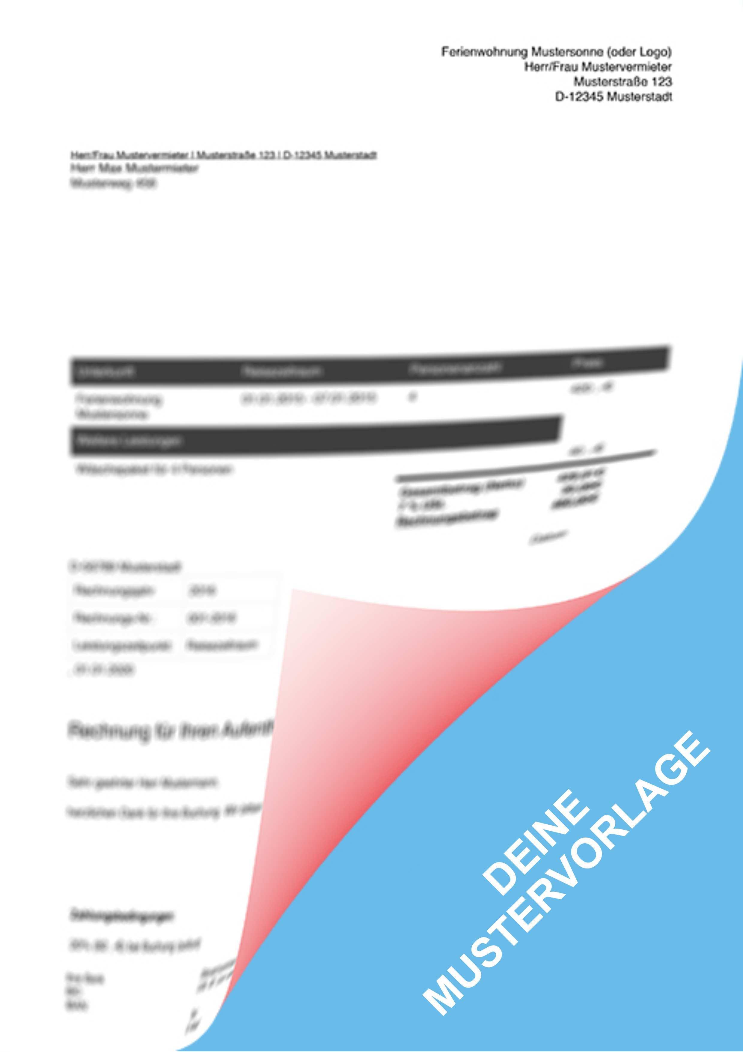 Rechnung Mit Umsatzsteuerausweis