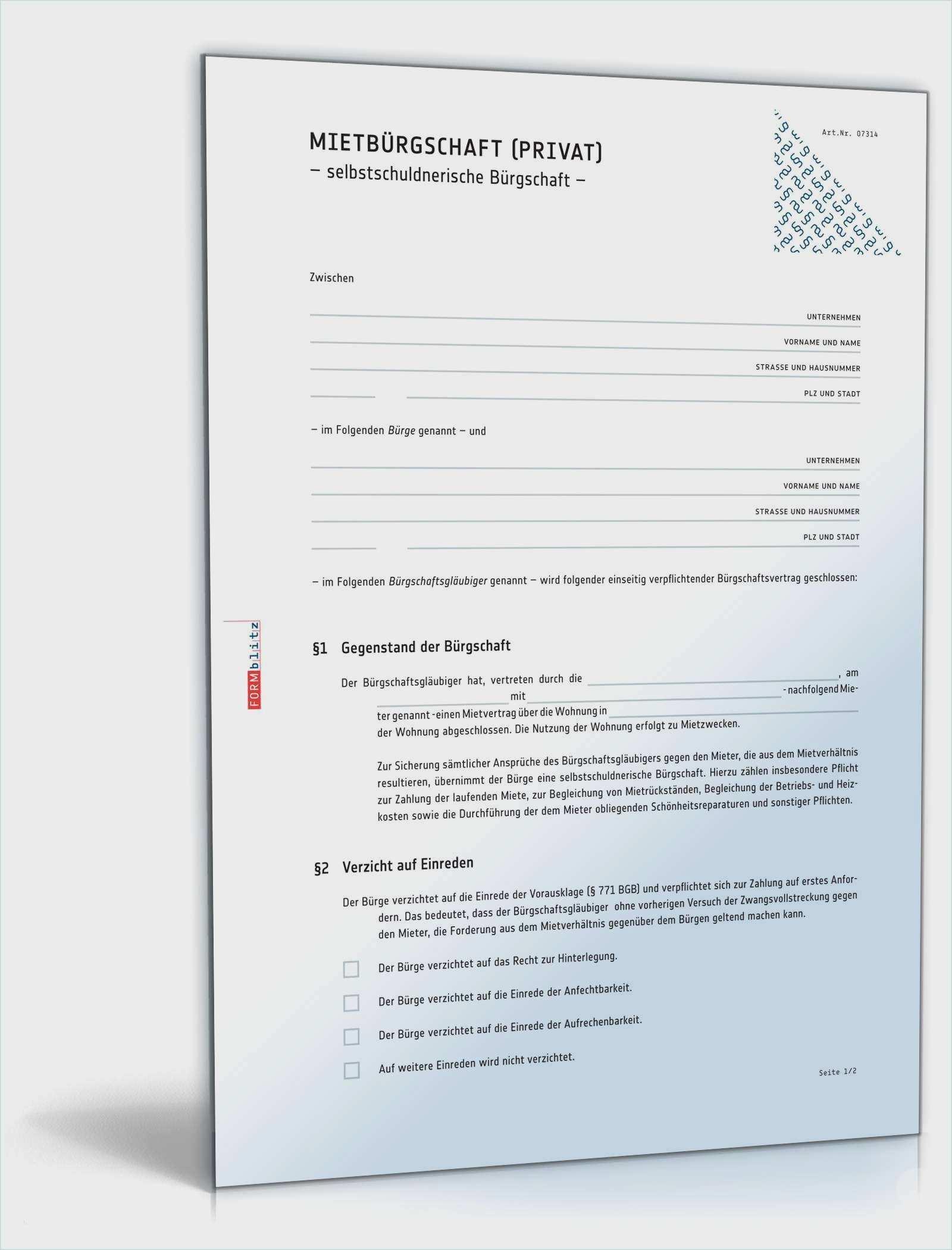 37 Wunderbar Mietburgschaft Vorlage Kostenlos Sie Konnen Anpassen In Ms Word In 2020 Vorlagen Vorlagen Word Aufhebung