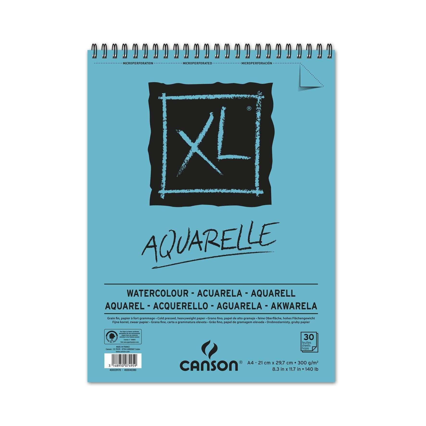 Canson Xl Aquarelle Aquarellblock Din A4 30 Blatt 300 G M Amazon De Kuche Haushalt In 2020 Aquarell Aquarellpapier Aquarellfarben