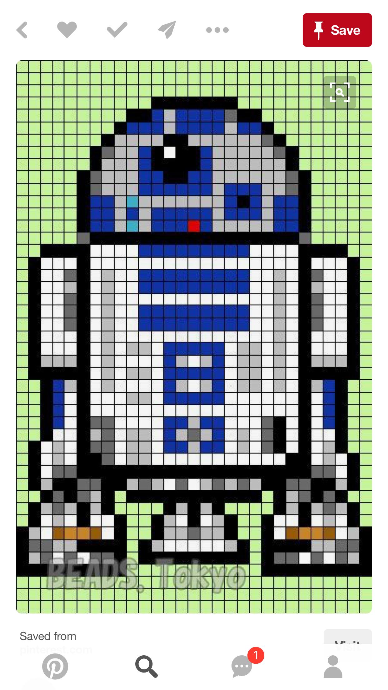 Pin Von Geiervalli Auf Sticken Star Wars Quilt Perlen Kreuzstich Und Bugelperlen