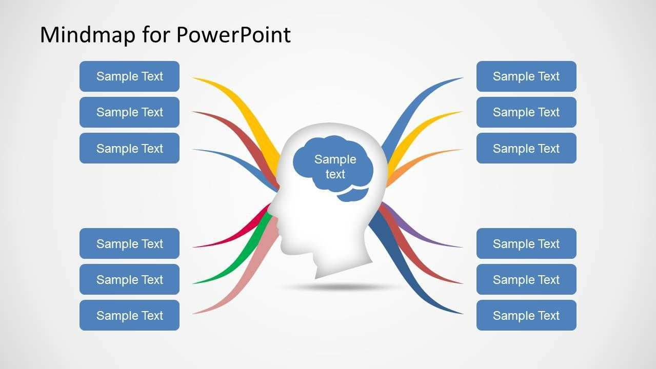 Mind Map Diagram Template For Powerpoint Slidemodel Mind Map Template Map Diagram Mind Map