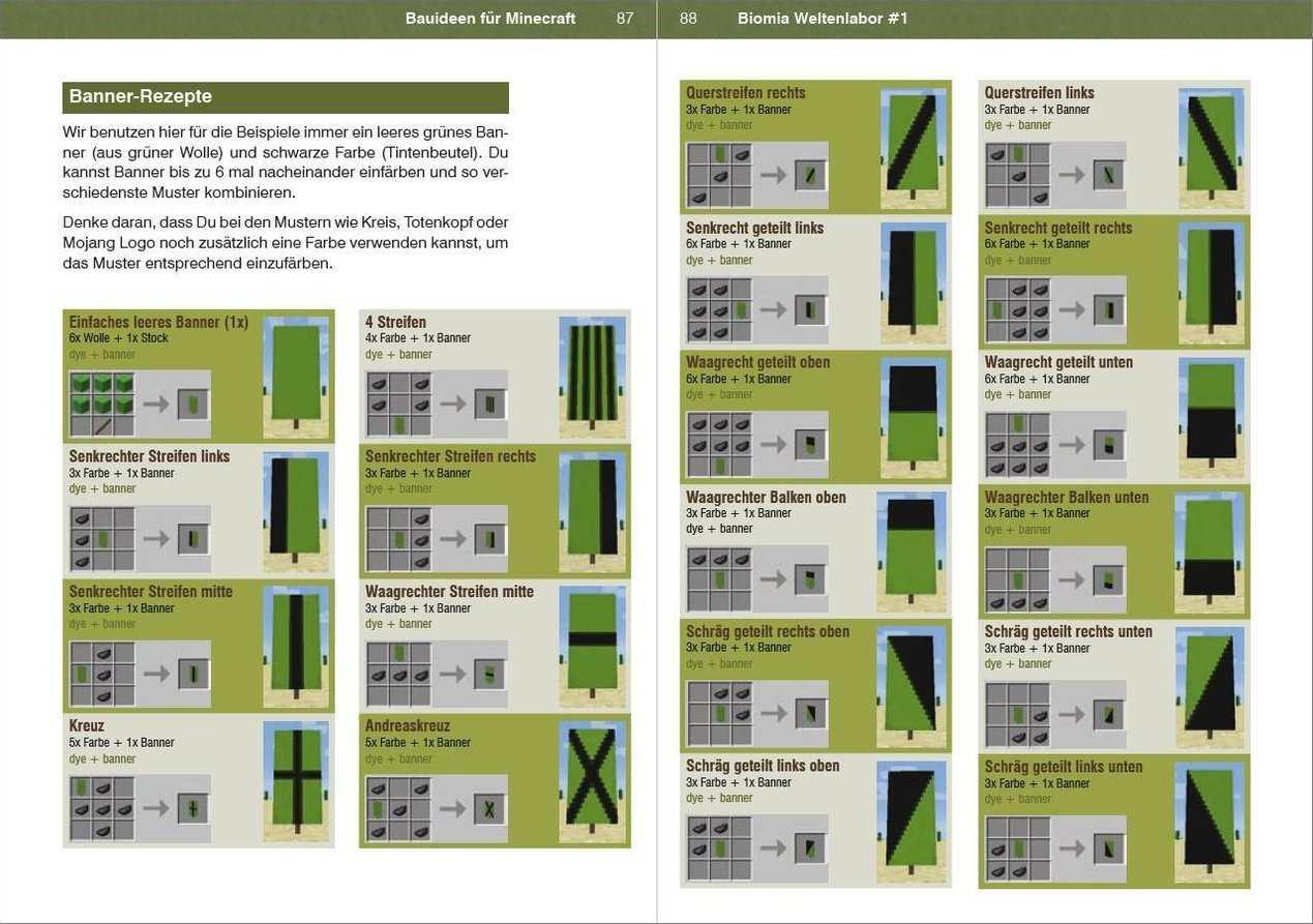 Biomia Weltenlabor 1 Bauanleitungen Fur Minecraft Buch