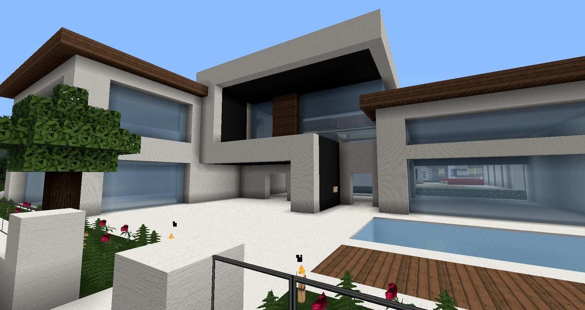 Moderne Minecraft Hauser Wolkenkratzer Modernes Haus Best Modern Ho Minecraft Haus Bauen Minecraft Haus Minecraft Hauser Modern