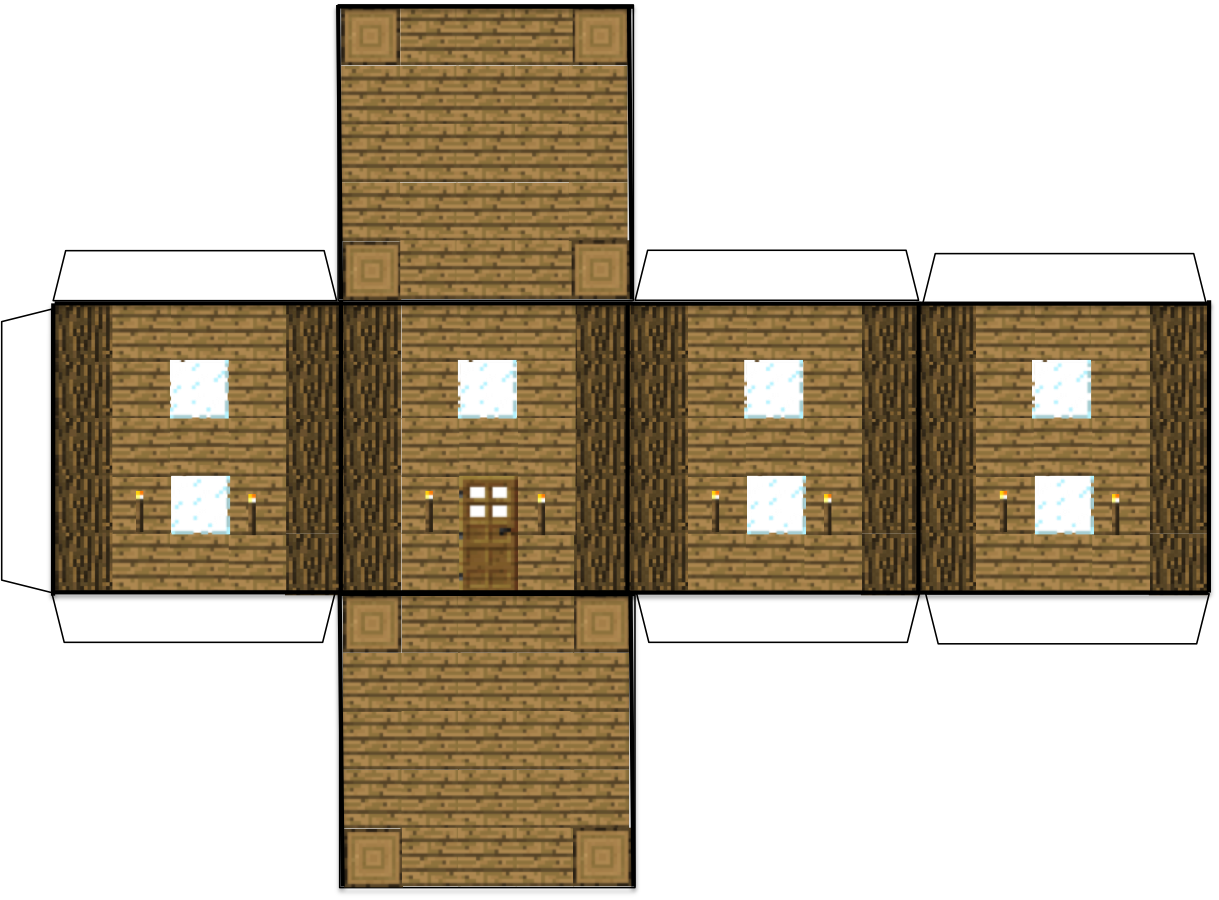 Papercraft Minecraft House Minecraft Blocks Minecraft Printables Minecraft Crafts
