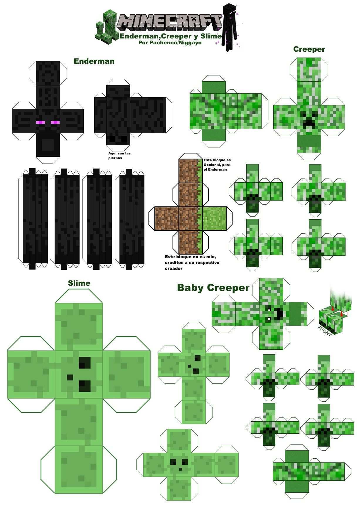 Pin By Liane Liebig On Baking Inspiration Minecraft Printables Minecraft Crafts Minecraft Party