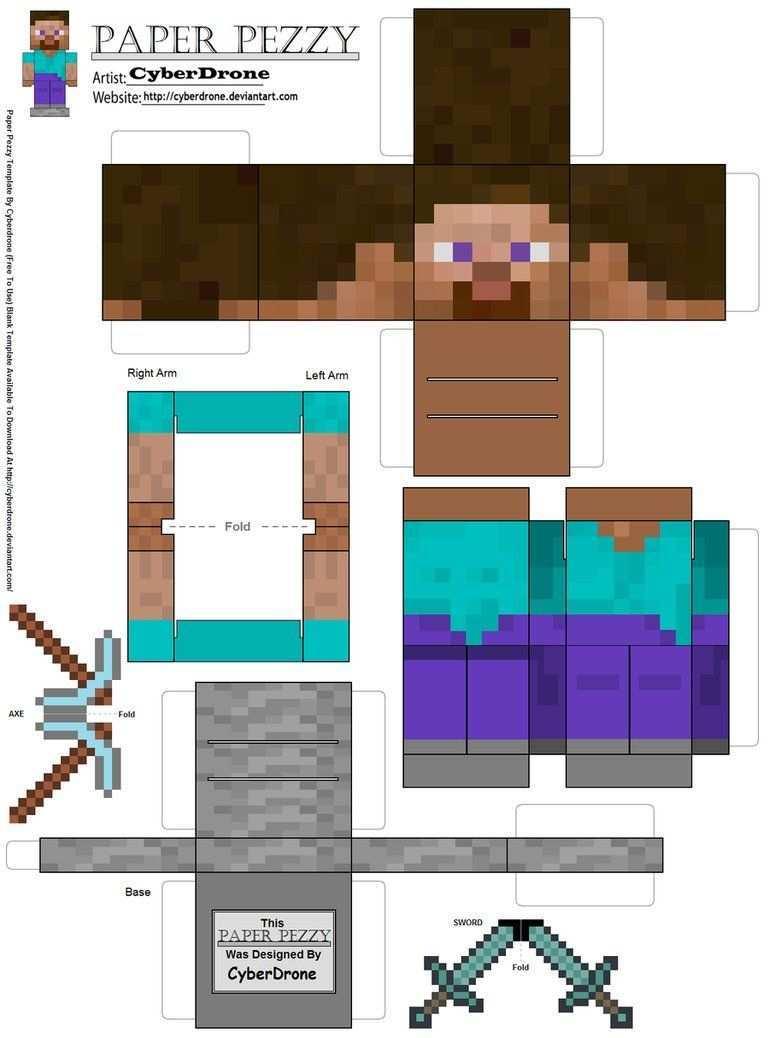 Minecraft Kit Digital Gratuito Decoracoes De Festa Minecraft Mine Craft Party Minecraft Crafts